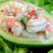 Shrimp-Stuffed Avocados