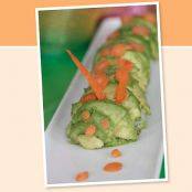 Cucumber and Avocado Inside-out Nori Rolls From Stealth Health Lunches Kids Love