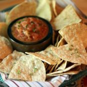 Lime Tortilla Chips & Salsa