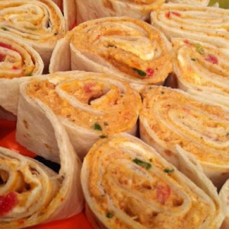 Party-Friendly Mexican Chicken Roll-Ups