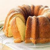 Cream Cheese Pound Cake with Bisquick