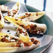 Endive Stuffed with Goat Cheese