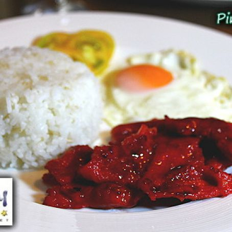 Filipino Savory Pork Tocino