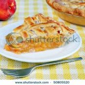 White Peach Pie