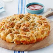 Parmesan Garlic Monkey Bread