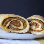 Pizza Dough Sausage Roll