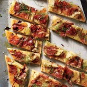 Roasted Fennel & Prosciutto Flatbread