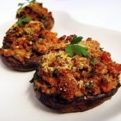 Stuffed Portobello Mushrooms with Gorgonzola