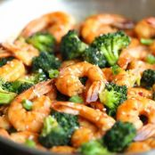 Honey Sesame Shrimp