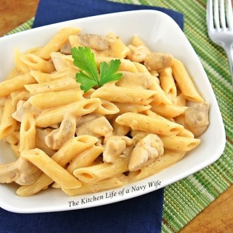 Mexican Penne with Chicken Thighs