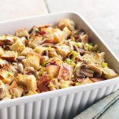 Apple, Bacon, & Leek Stuffing