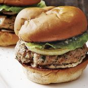 Smoky Pork Burgers with Grilled Sweet Onion