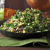 Winter Slaw with Kale & Cabbage