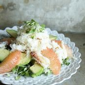 Crab, Avocado and Grapefruit Salad
