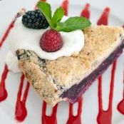 Mixed-Berry Pie A La Mode