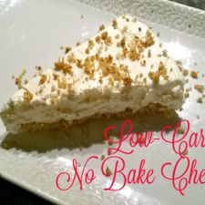 Low Carb No Bake Cheesecake