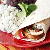 Chipotle-Lime Chicken Fajitas