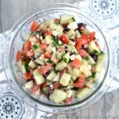 Greek Cucumber and Tomato Salad
