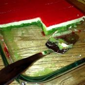 Elaine's Christmas Jello Salad