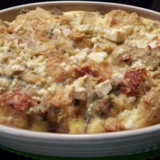 Mediterranean Egg Casserole for Two