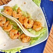 Sweet Chili Shrimp Tacos