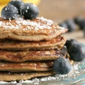 5-Ingredient Banana Bread Pancakes-Gluten Free