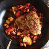 Easy Harissa Chicken Dinner