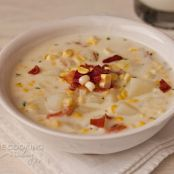Pressure Cooker Corn Chowder