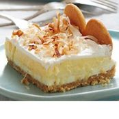 Layered Coconut Cream Cheesecake
