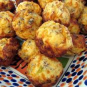 Sausage-and-Cheddar Muffins