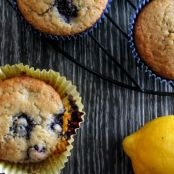 Lemon Berry Muffins with Quinoa Flour – Gluten Free