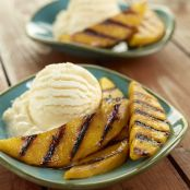 Sweet Grilled Mango Slices