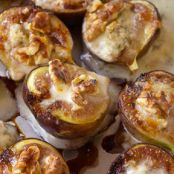 Figs Stuffed with Gorgonzola and Walnuts Recipe - Anne Burrell