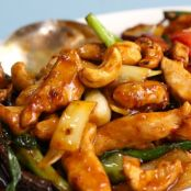 Pum's Chicken with Cashew Nuts