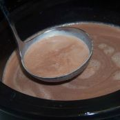 Christmas Eve Creamy Slow-Cooker Hot Chocolate
