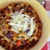 Chili Macaroni in the Pressure Cooker