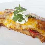 Low Carb Cheesy Pork Enchiladas