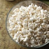 Rosemary Parmesan Popcorn Recipe