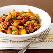 Italian Sausage and Pepper Pasta- Weight Watchers 7 Points