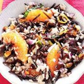 Orange-Pistachio Wild Rice Salad