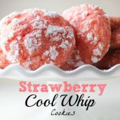 Strawberry Cool Whip Cookie