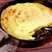 Mushroom and Corn Spoon Bread