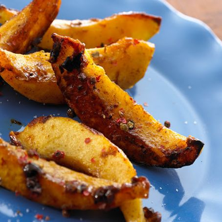 Baked Acorn Squash Fries