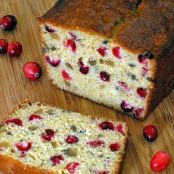 Holiday Season Cranberry Bread