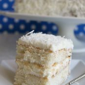 Southern Style Coconut Cake