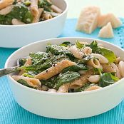 Cannellini Bean & Spinach Pasta
