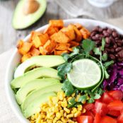 Summer Mexican Salad with Citrus Dressing