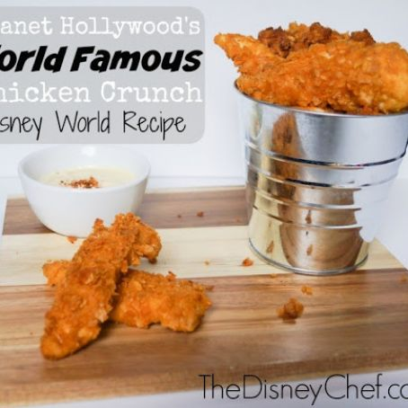 World Famous Chicken Crunch As at Planet Hollywood, Disney Springs