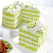 Key Lime Torte with Pineapple-Ricotta Filling