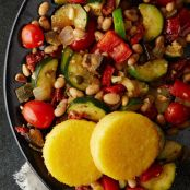 Ratatouille with White Beans & Polenta